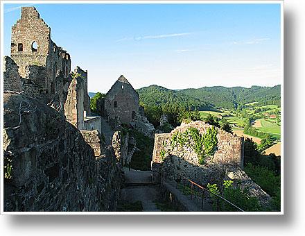 Burgruine der Hochburg