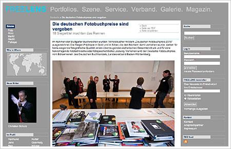Die deutschen Fotobuchpreise 2010