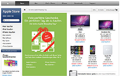 Apple Angebote zum Black Friday