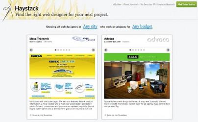 Web-Designer finden bei Haystack
