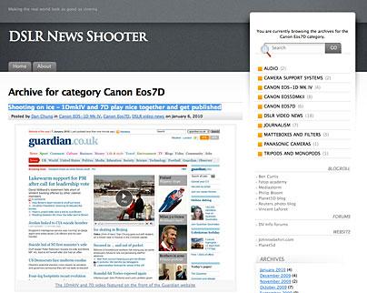 DSLR News Shooter