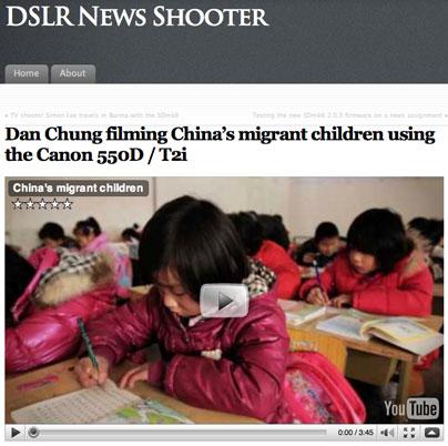 DSLR-Newsshooter Dan Chung
