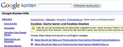 Google sperrt Benutzer aus