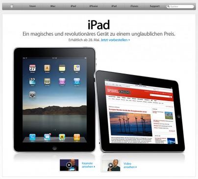 Das I-Pad von Apple