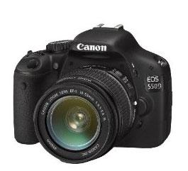 Canon 550D mit Kit-Objektiv