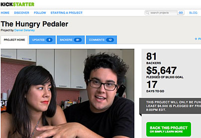 Daniel Delaney: The Hungry Pedaler