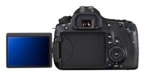 Canon 60D mit Klapp- und Schwenk-Display