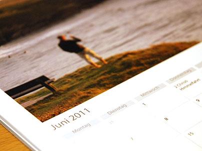 Fotokalender selbstgemacht