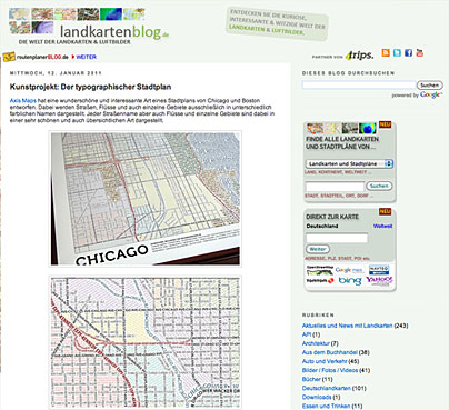 Das Landkartenblog