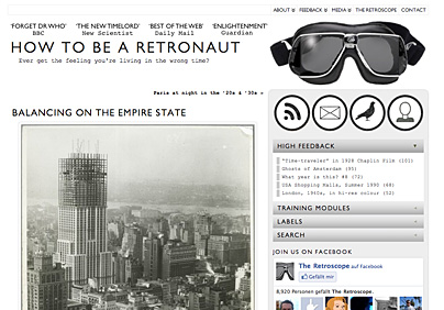 How to be a retronaut