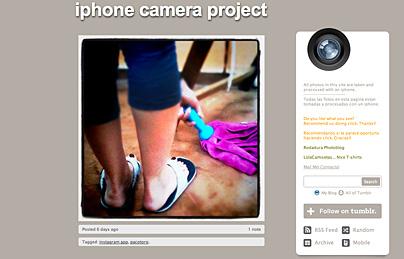 das iphone camera project