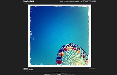 ramble on: Fotoblog mit iPhone-Bildern