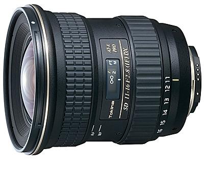 Weitwinkel-Zoom Tokina 11-16mm, 2,8