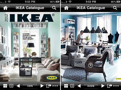 dieses mal auch anders der ikea katalog 2012 kommt auch als app joachimott journal. Black Bedroom Furniture Sets. Home Design Ideas