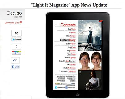 Das Light-it-Magazin von Scott Kelby