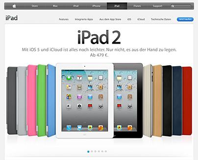 Das iPad2 von Apple