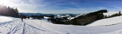 Winterpanorama Schwarzwald