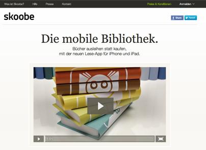 Skoobe- Flatrate fürs E-Book-Lesen
