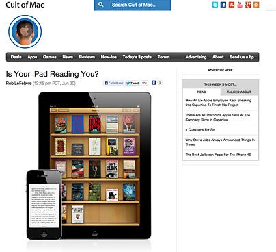 Lesen auf dem iPad