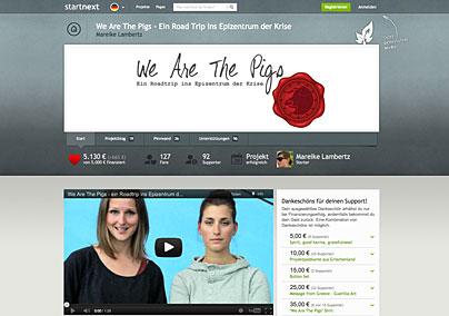 Startnext-Projekt zweier Journalistinnen