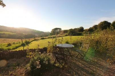 Aussicht Ferienhaus North Devon