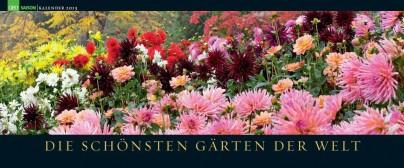 Geo-Panoramakalender Gärten 2013