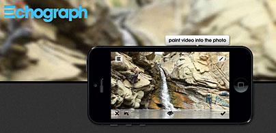 Echograph - iPhone App für bewegte Bilder