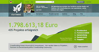 Startnext - Crowdfunding-Plattform