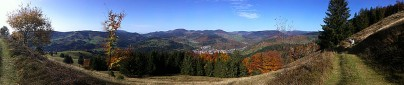 Herbstliches Panorama