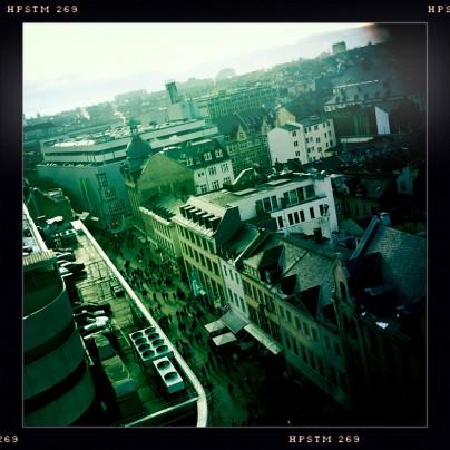 Wiesbaden von oben