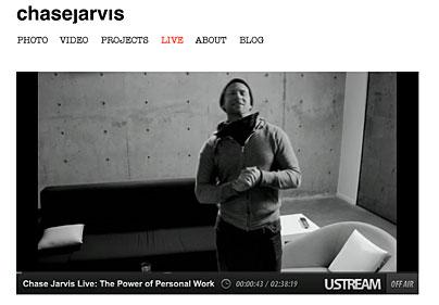 Live-Mitschnitt Chase Jarvis