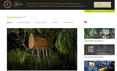 Baumhaus-Website