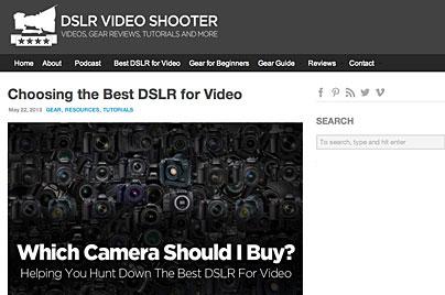 DSLR Video Shooter