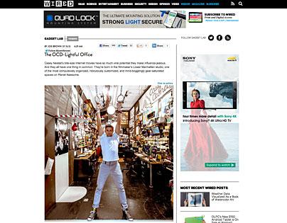 Studio und Werkstatt von Casey Neistat im Wired