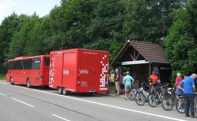 Ausnahme: Der Velo-Bus
