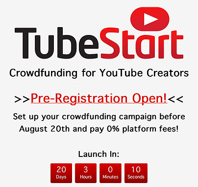 Tubestart - Video-Crowdfunding