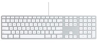 kabelgebundene Tastatur für den iMac