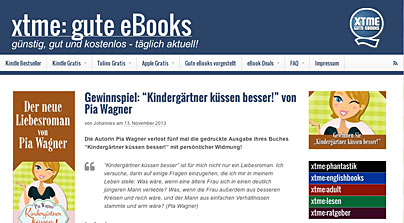 xtme - Ebook-Website