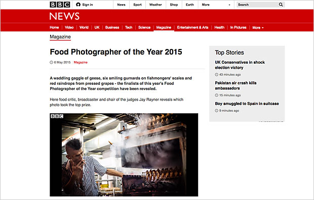 Food Photographer of the Year 2015 – BBC News