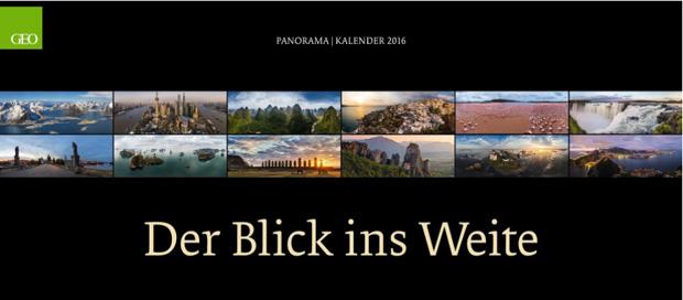 Geo Panoramakalender 2016
