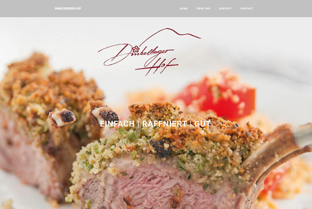 Website Dinkelberger Hof