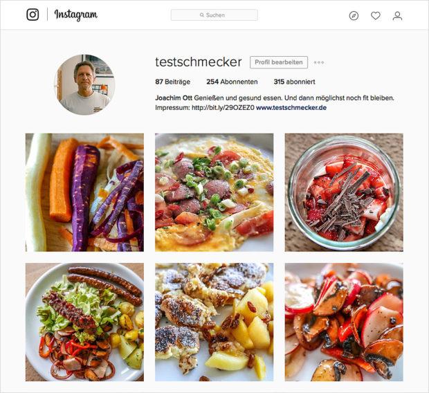 Der zweite Instagram-Account erreicht mit weniger Bildern in kürzerer Zeit mehr Follower, als der erste.