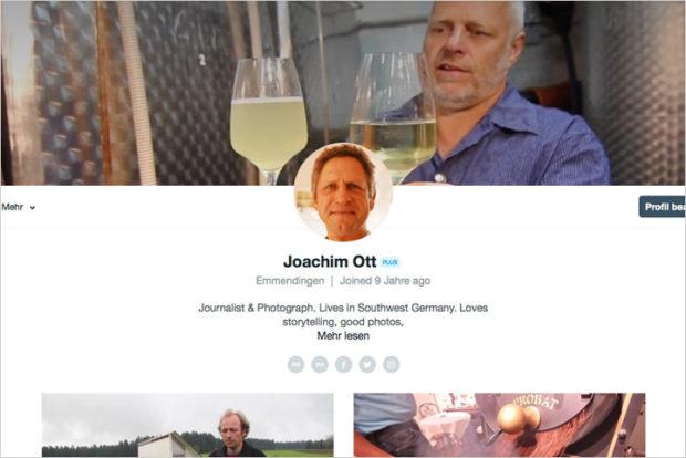 Ein Video-Header wertet jetzt die Vimeo-Profilseite auf. Das geht auch für die eigene Website.