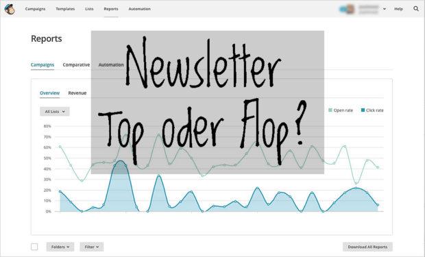 Newsletter-Dienste wie Mailchimp erleichtern die Arbeit - und die Auswertung.