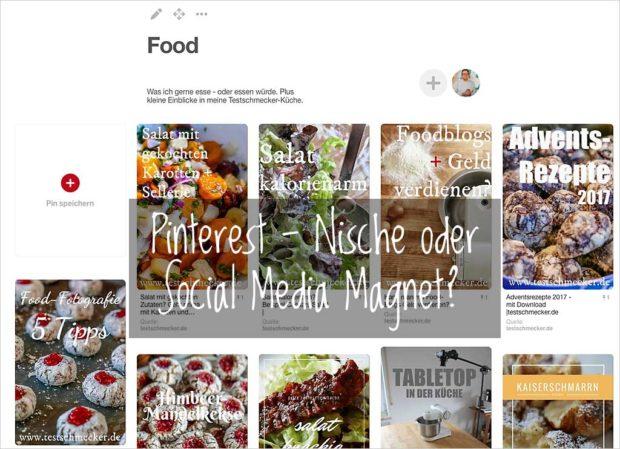 Pinterest, eins der kleineren Sozialen Netzwerke, ist für manche Themen und Arbeitsweisen besonders gut geeignet.