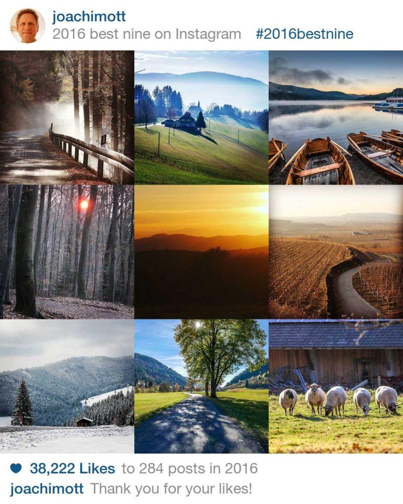 Instagram-Rückblick: Meine beliebtesten Fotos 2016