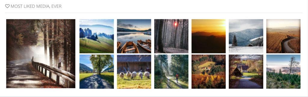 Die Instagram-Bilder mit den meisten Likes