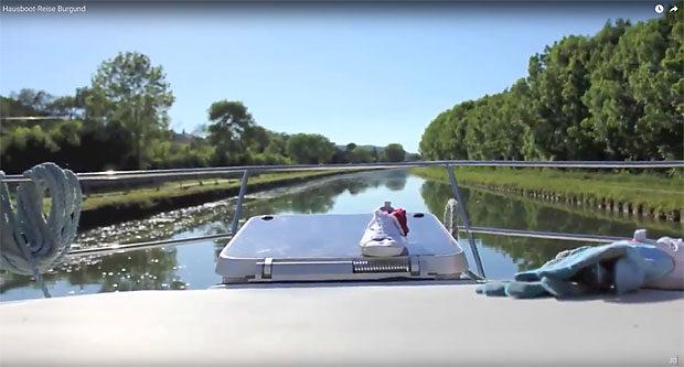 Hausboot-Reise, 7 Jahre alt, tolle Bilder, gute Musik - besser als privat markieren, auch wenns schön ist.