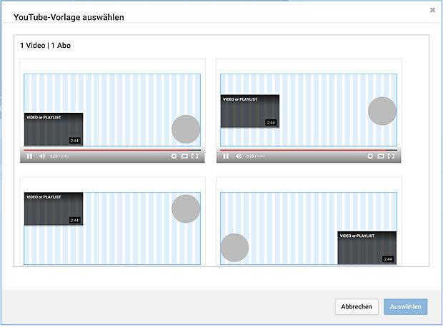 Outros - gehen am leichtesten direkt in Youtube.