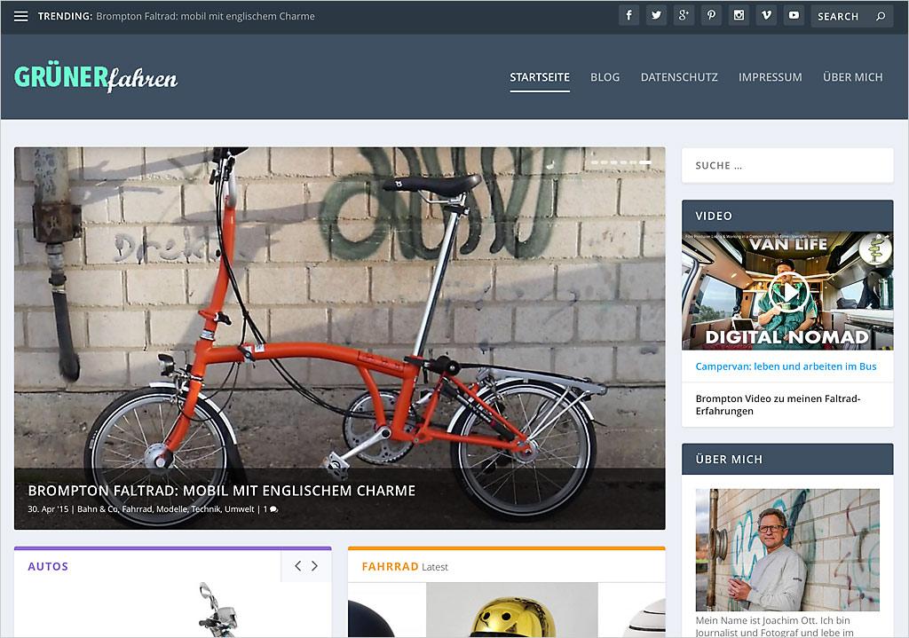 Im neuen Layout braucht man meistens auch andere WordPress Bildgrößen.